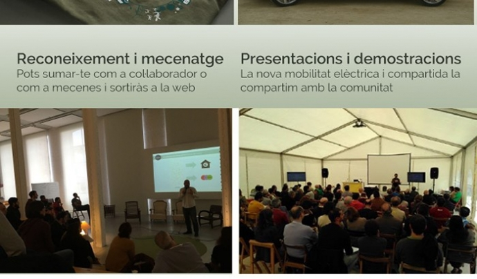 Els detalls de la campanya de micromecenatge estan al portal Goteo. Font: Goteo