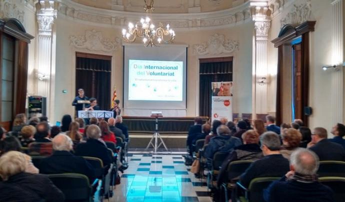 Imatge de l'actuació musical de l'Escola i Conservatori de Música de la Diputació a Tarragona