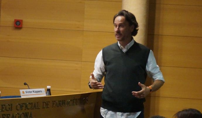 Víctor Küppers, conferenciant i formador que participarà a la jornada. Font: Fundació Pere Tarrés