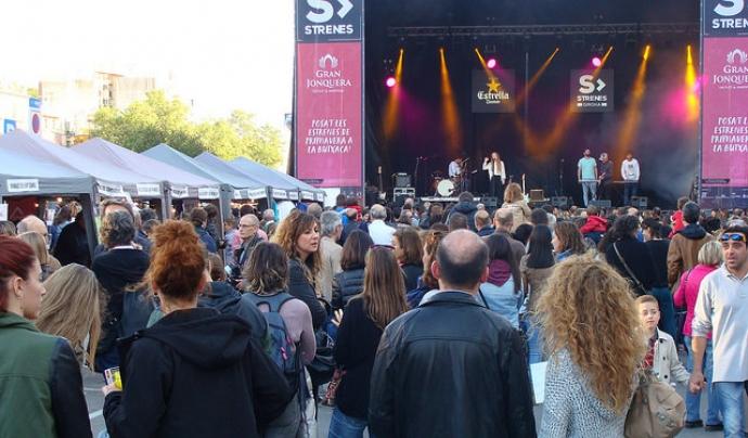 La Fira d'Entitats de Voluntariat de Girona coincideix amb el festival Strenes.