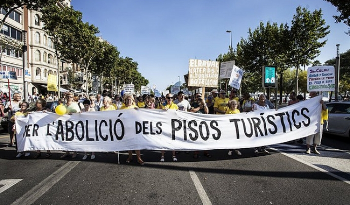 Les lluites socials liderades pel moviment veïnal són ben diverses