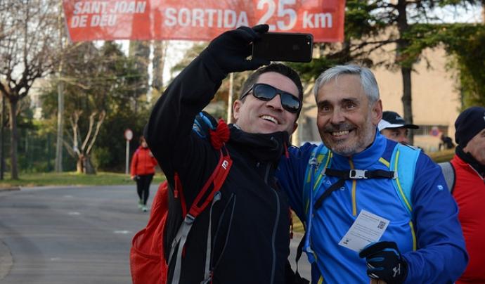 La Magic Line ha animat els equips solidaris a batre la xifra de 400.000 euros. Font: Solidaritat SJD