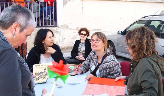 Passejada 3QUEM del passat 19 d'abril. Font: Pàgina de Facebook de la Jordiada
