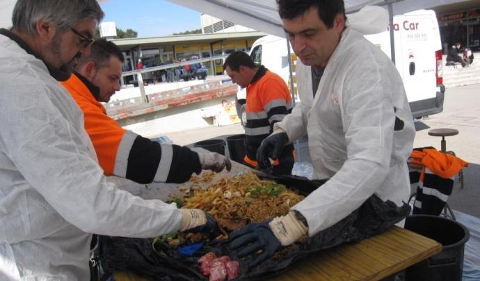 Caracterització d'aliments a la UAB el curs 2011-2012. Font: FAS