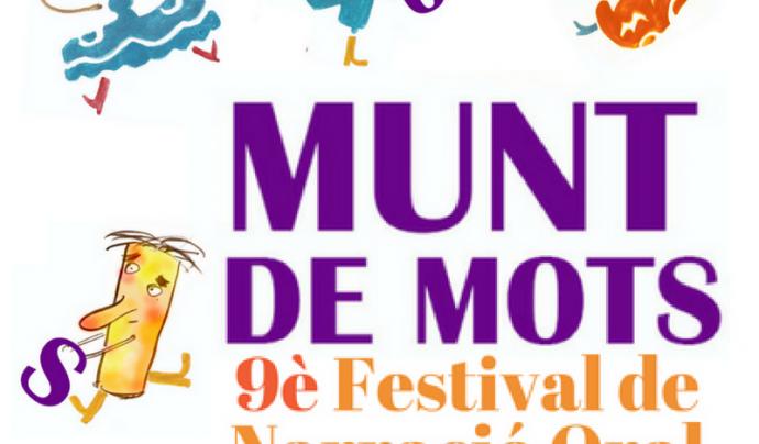 Cartell de la 9a edició del Festival Munt de Mots