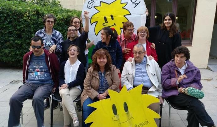 L'Esplai Rabadà apropa el lleure a persones amb discapacitat intel·lectual a Mataró. Font: Esplai Rabadà