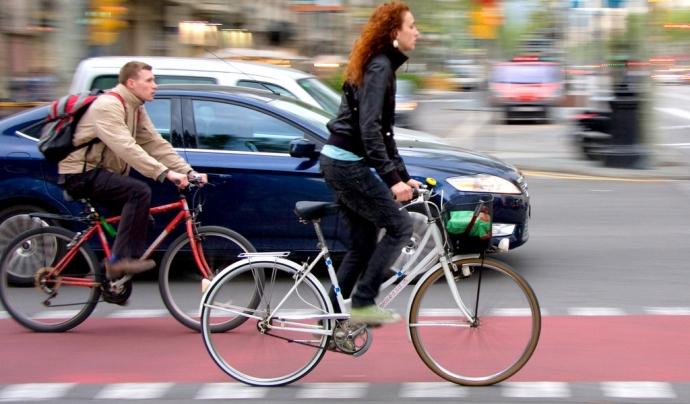 La bicicleta guanyarà pes en la mobilitat urbana als municipis després de la pandèmia. Font: Mikael Colville, Flickr