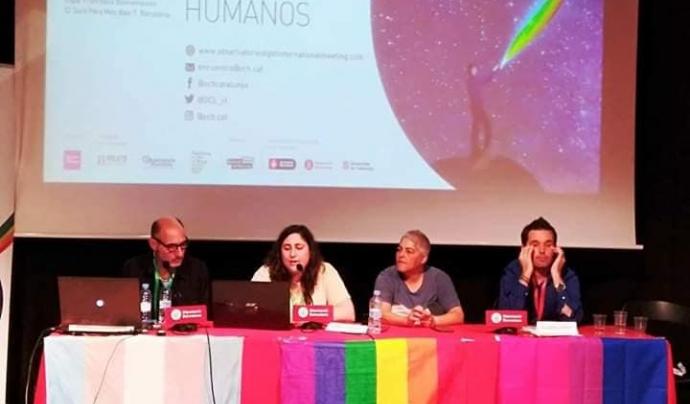 Assistència a lesTrobades Internacionals Observatoris Contra LGTBI-FÒBIA Font: Observatori contra l'Homofòbia