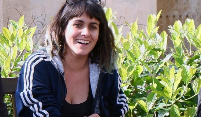 Alba Hierro, tècnica de la Xarxa d'Economia Solidària al projecte Pam a Pam. Font: Pam a Pam