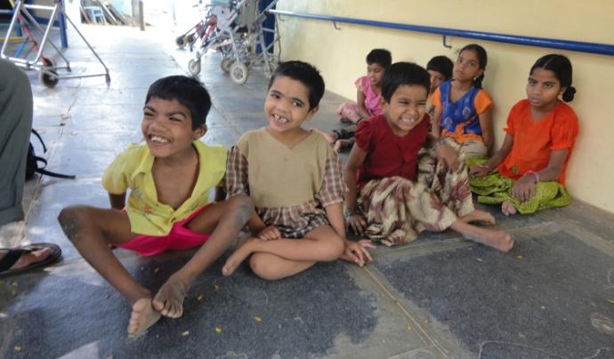 Un centre per a persones amb discapacitat intel·lectual a l'ïndia Font: Fundació Vicente Ferrer