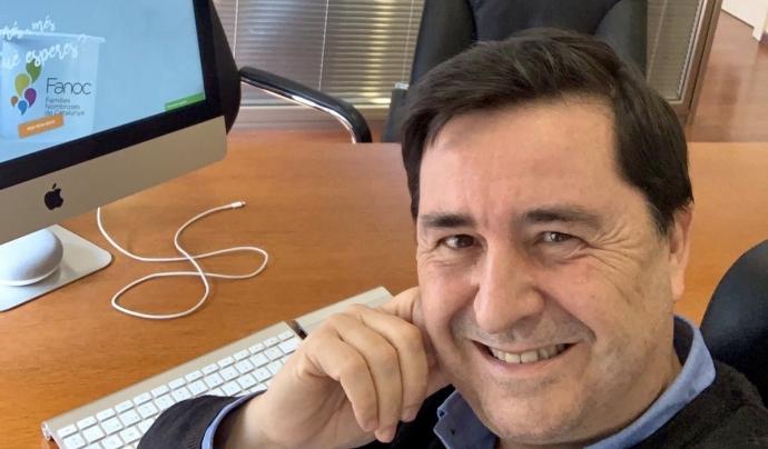 Raúl Sanchez, Director de l'Associació de Famílies Nombroses de Catalunya. Font: Raúl Sánchez. Font: Raúl Sánchez