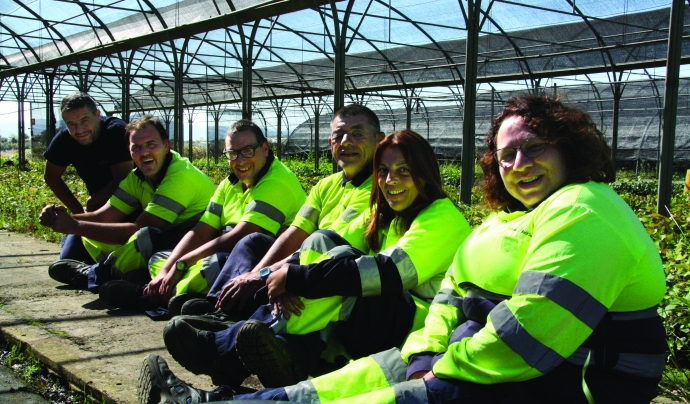 L'entitat és en sí mateixa un centre especial de treball. Font: Fundació Viver de Bell-Lloc