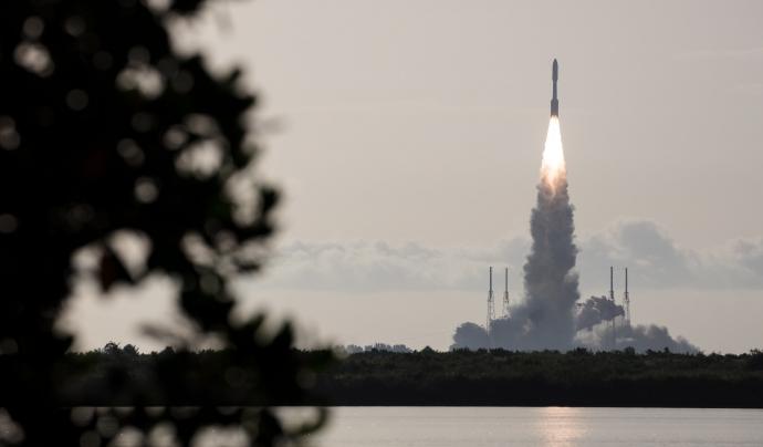 Llançament espacial de la NASA el 2020. Font:  NASA HQ PHOTO