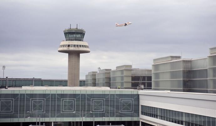 Vista de la T1 de l'aeroport del Prat. Font: Iberia Airlines (CC BY 2.0)