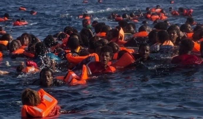 Més de 1.300 persones han mort des de principis d'any al Mediterrani, davant la costa líbia Font: Europa Press