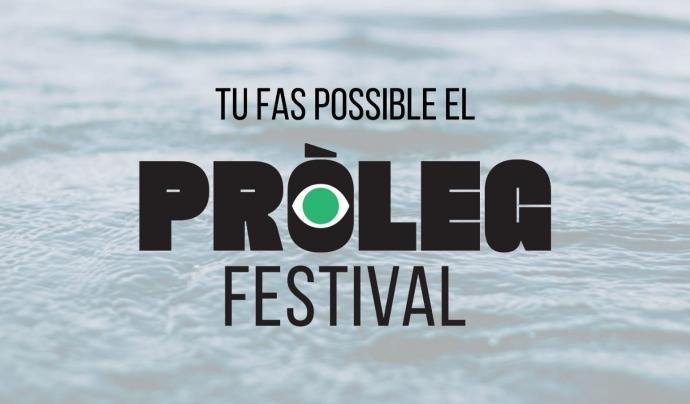 Font: Festival Pròleg - AEiG Gent de Mar