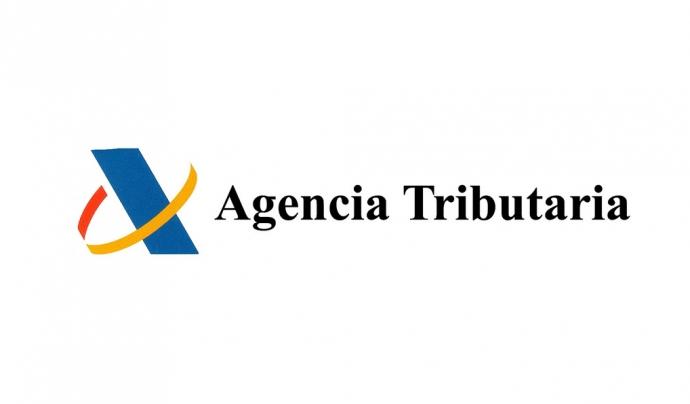 Logo Agència Tributària. Font: web agenciatributaria.es