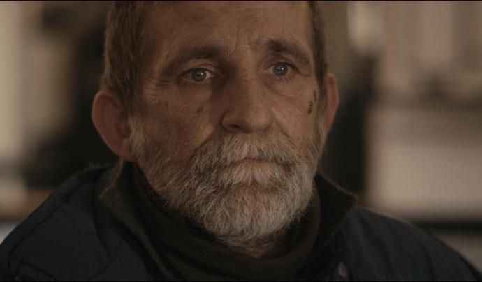 Enric, el protagonista del film, ha viscut durant anys al carrer.