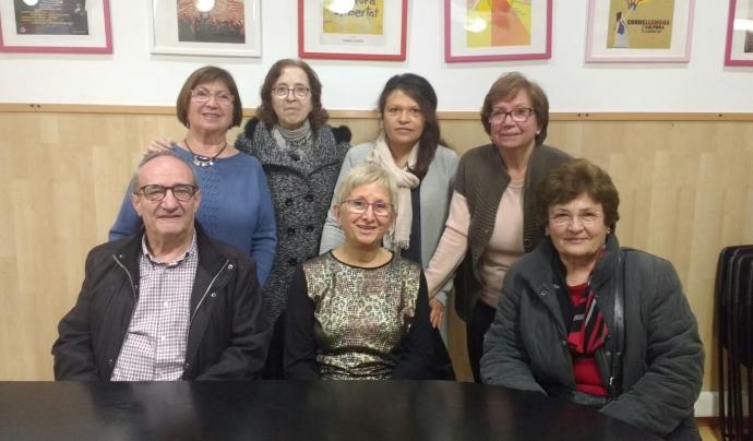 Un dels grups de conversa del projecte 'Xerrem Junts' (CAL)