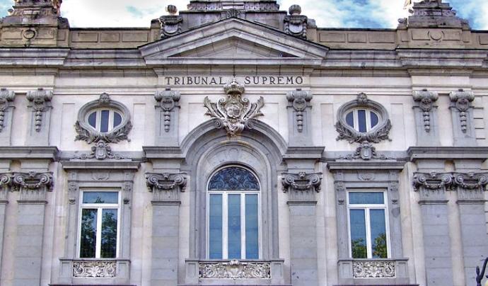 Façana del Tribunal Suprem. Font: Wikimedia