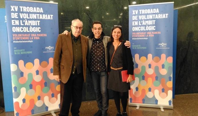 Clara Rosàs, coordinadora de la FECEC, a la dreta de la imatge. Font: FECEC