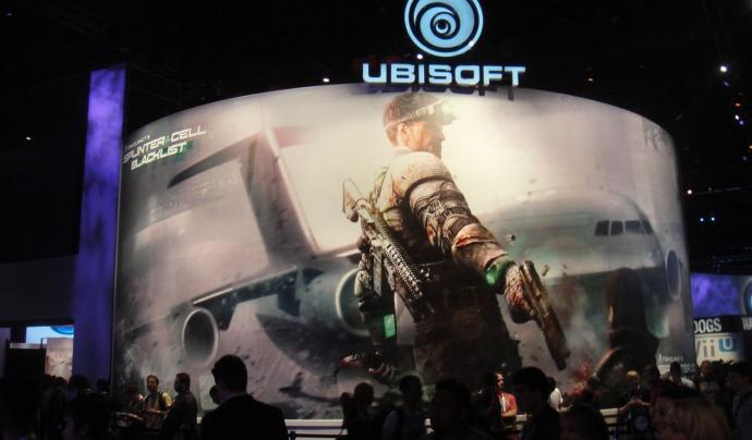 Un stand d'Ubisoft a l'Electronic Entertainment Expo del 2012. Font: Doug Kline (CC BY-NC 2.0)