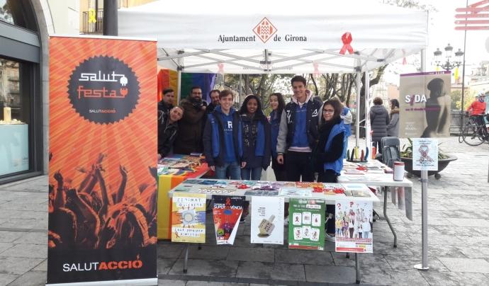 L'ACAS compta amb voluntariat jove per a les campanyes de sensibilització. Font: ACAS