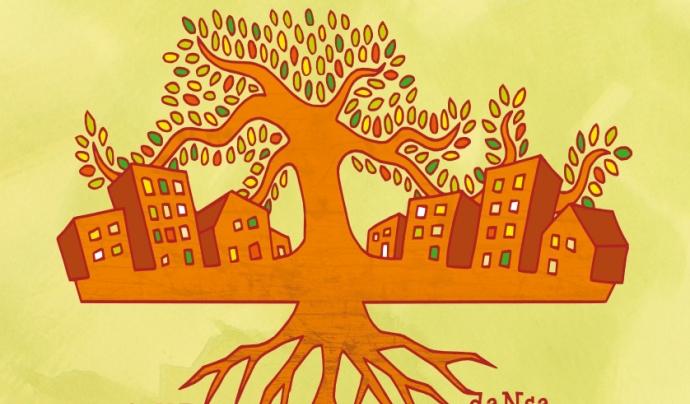 Cartell de la 8a Mostra d'Art Social de Mataró