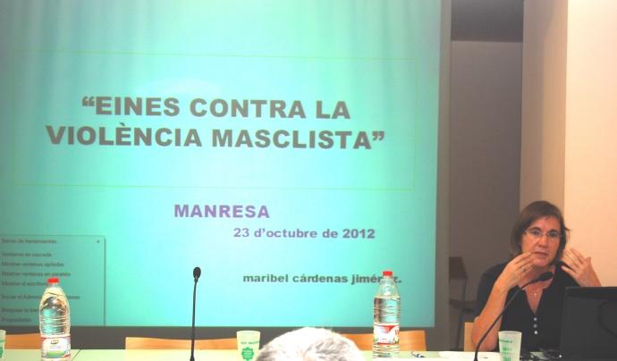 """Curs """"Eines contra la violència masclista"""" a Manresa"""