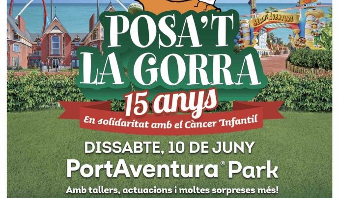 Cartell de la 15a edició del Posa't la Gorra! Font: AFANOC
