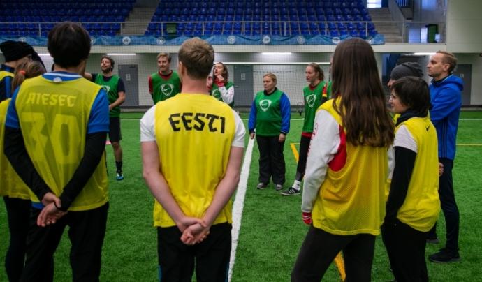 La regona reunió del projecte PlayGreen ha tingut lloc a Tallinn. Font : Gertrud Alatare Font: Gertrud Alatare