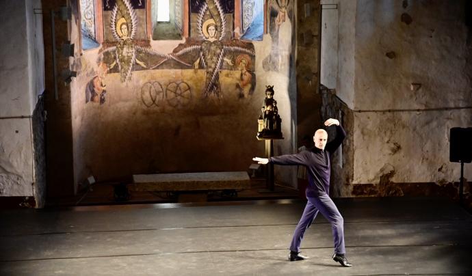 Cesc Gelabert en la inauguració del Dansàneu Font: Joan Blanco