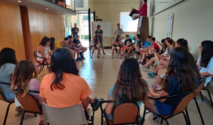 Per a una gran part de la joventut, el confinament i desconfinament s'han convertit en un procés de tolerància a la frustració, d'adaptació i d'aprenentatge constant.  Font: Ajuntament de Castellolí