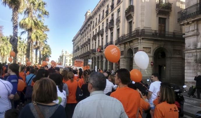 Caminata per l'ELA 2016 Font: Fundació Miquel Valls
