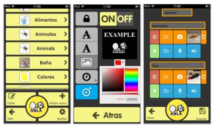 L'app presenta imatges a partir del llenguatge escrit
