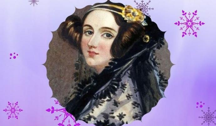 Ada Lovelace, la primera programadora de la història, és una de les dones que reivindica el calendari d'advent de Young IT Girls Font: Young IT Girls