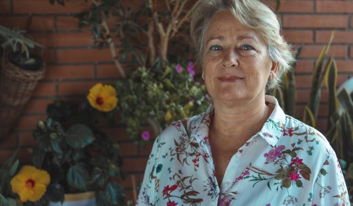 Adela Atero és llevadora de l'equip de Migjorn. Font: Daniel Martínez