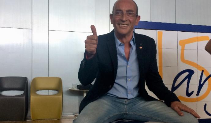 Adolf Díaz, responsable d'm4Social a la Junta Directiva de la Taula d'entitats del Tercer Sector. Font: Taula del Tercer Sector Social