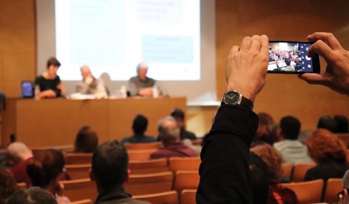 L'AESCAT va organitzar un debat per conèixer les propostes de reconeixement, enfortiment i foment de l'ESS. Font: Taula del Tercer Sector