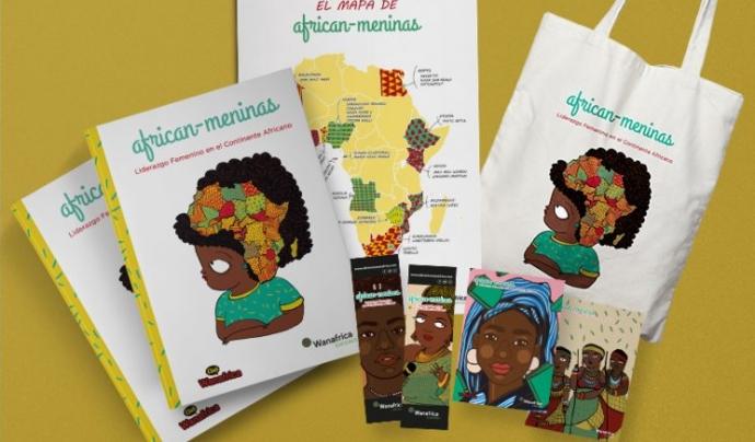 Recompenses Verkami llibre 'African-meninas'. Font: Club Wanafrica