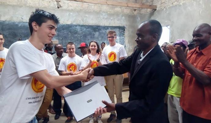 L'escola San Cernin (Navarra) està agermanada amb l'escola de Mbandi (Kènia). Font: Imatge cedida per Susanna Gómez.