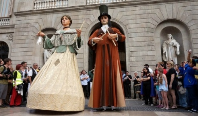 Amb set-cents anys d'història, el Corpus de Barcelona és el màxim exponent de la tradició cultural de la capital catalana. Font: Ajuntament de Barcelona