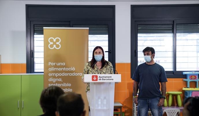 L'any 2020 l'Ajuntament va multiplicar de forma considerable els dispositius de provisió d'aliments. Font: Ajuntament de Barcelona