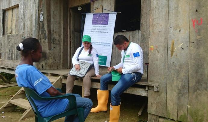 EU Aid Volunteers d'Alianza por la Solidaridad