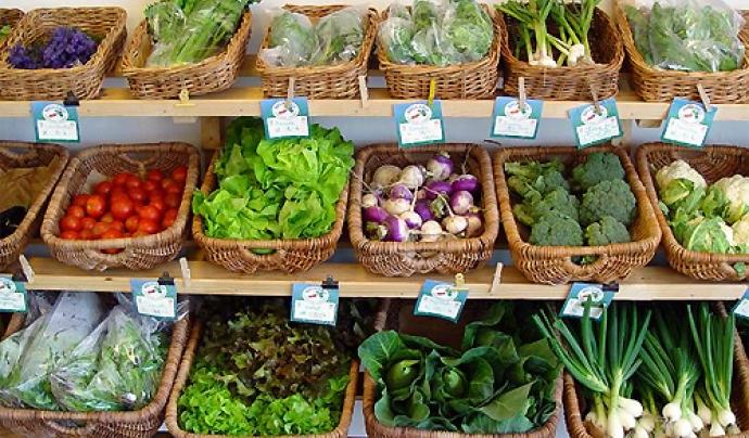 Aliments ecològics. Imatge extreta del bloc esthervivas.wordpress.com