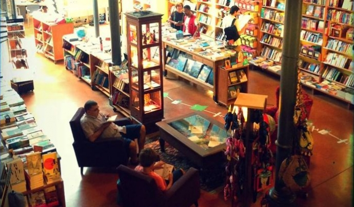 La biblioteca Altaïr de Barcelona. Font: Barcelona.com