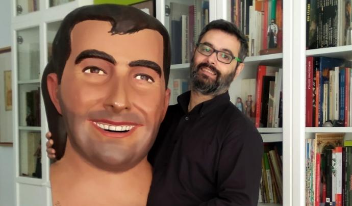 Amadeu Carbó, membre de l'entitat #CrememBarcelona. Font: Cedida per Amadeu Carbó