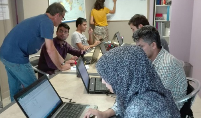Projecte AMAL treballa per crear un futur esperançador per a les persones migrades a través de l'educació.  Font: Projecte AMAL