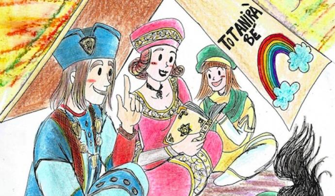Serà la primera vegada que la Trobada de Gegants se celebra virtualment. Font: Amics dels Gegants de Montblanc