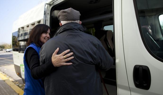 L'Associació Ampert busca suport per garantir el transport de pacients oncològics a l'Alt Penedès. Font: Ampert